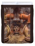 Out Of The Furnace Duvet Cover