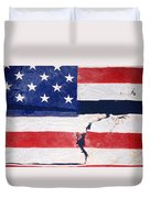 Out Of The Rubble  September 11 2001 Duvet Cover