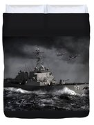 Out Of The Storm Duvet Cover