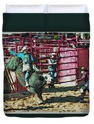 Out The Chute Duvet Cover