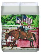 Out The Gate Duvet Cover