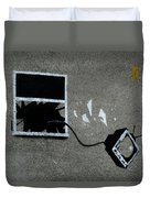 Out The Window Duvet Cover