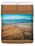 Outback Flinders Ranges Duvet Cover