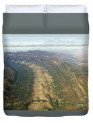 Outback Mountains Duvet Cover