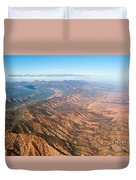Outback Ranges Duvet Cover