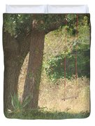 Outdoor Swing Duvet Cover
