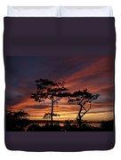 Outer Banks Sunset Duvet Cover