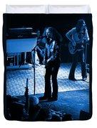 Outlaws #17 Blue Duvet Cover