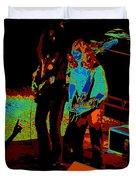 Outlaws #18 Art Cosmic Duvet Cover