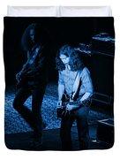 Outlaws #19 Blue Duvet Cover