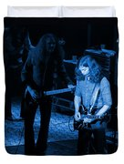 Outlaws #20 Crop 3 Blue Duvet Cover