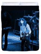 Outlaws #21 Crop 2 Blue Duvet Cover