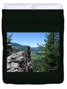 Outlook From The Ridge Duvet Cover