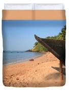 Outrigger On Cola Beach Duvet Cover
