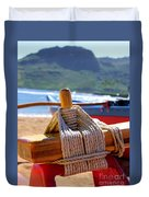 Outrigger Rigging Duvet Cover