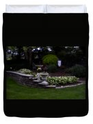 Outside The Garden  Pin-hole Photo Duvet Cover