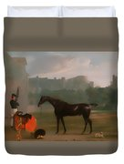 Outside The Guardhouse At Windsor Duvet Cover