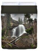 Ouzel Falls Upper View Duvet Cover