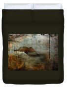 Over The Brick Wall One Duvet Cover