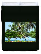 Over The Hedges Duvet Cover