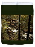 Over The River And Thru The Wood Duvet Cover