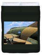 Over The Shoulder F-100 Duvet Cover