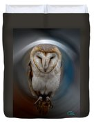 Owl Alba  Spain  Duvet Cover