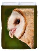 Owl Profile Duvet Cover