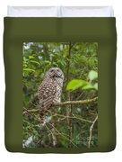 Up - Owl Duvet Cover
