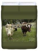 Oxen Duvet Cover