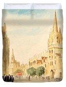 Oxford High Street Duvet Cover