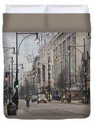 Oxford Street Duvet Cover