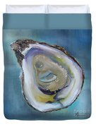 Oyster On The Half Shell Duvet Cover