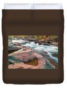 Ozark Stream Duvet Cover
