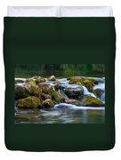 Ozark Waterfall Duvet Cover