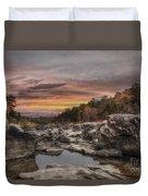 Ozark Mountain Stream Duvet Cover
