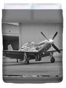 P-51d Spam Can Duvet Cover