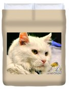 P C - Perfect Cat Duvet Cover
