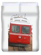 P P Cog Train Duvet Cover