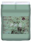 P W Duvet Cover