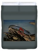P38 Red Bull Lightning Warbird Duvet Cover