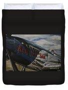 P51 Mustang Kentucky Babe Warbird Duvet Cover