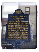 Pa-131 Robert Bogle 1774-1848 Duvet Cover