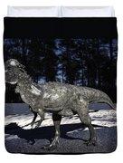 Pachycephalosaurus Duvet Cover