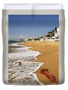 Pacific Coast Of Mexico Duvet Cover