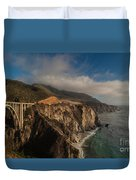Pacific Coastal Highway Duvet Cover