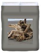 Pacific Driftwood II Duvet Cover