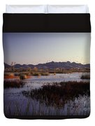 Pacific Flyway Duvet Cover