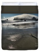 Pacific Fog Duvet Cover by Adam Jewell
