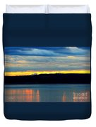 Pacific Northwest Morning Duvet Cover